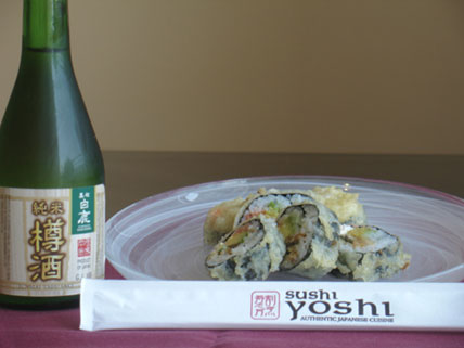 July Roll with Taru Sake
